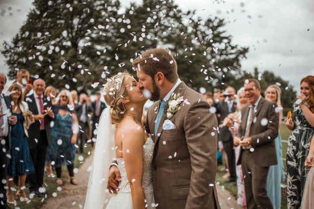 boho style wedding at barnston lodge
