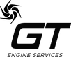 Black GT Engines Logo