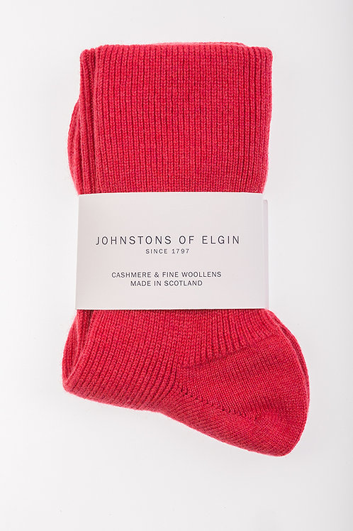 Red Johnstons of Elgin Bedsocks