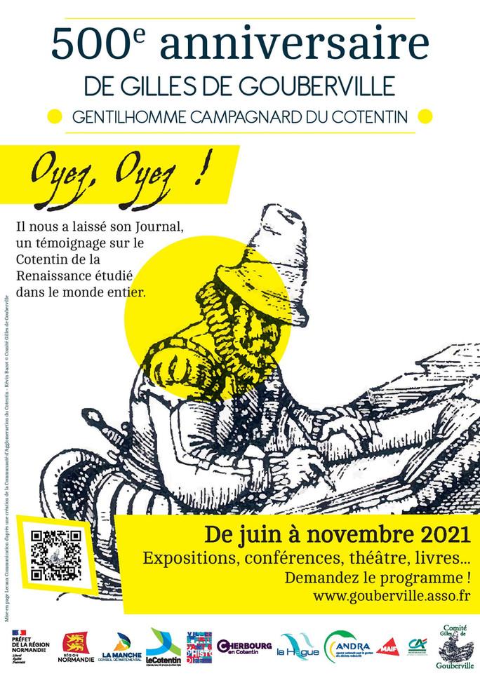 500e anniversaire de la naissance de Gilles de Gouberville