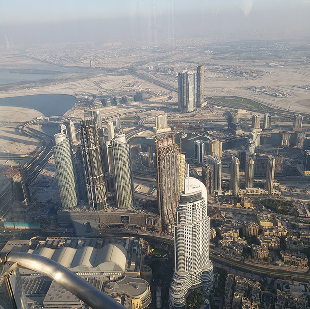 Dubai from up high