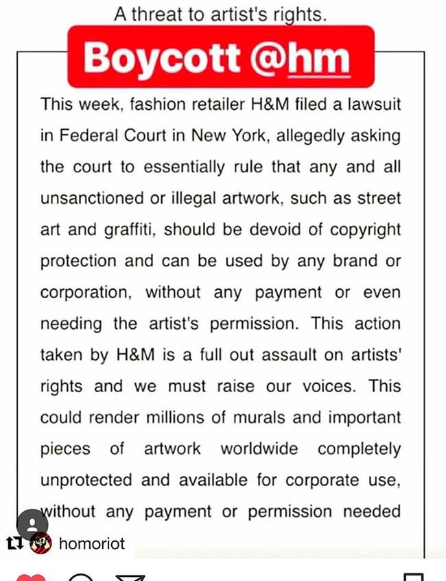 Boycott HM 1