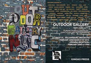 Outdoor Gallery Book Launch