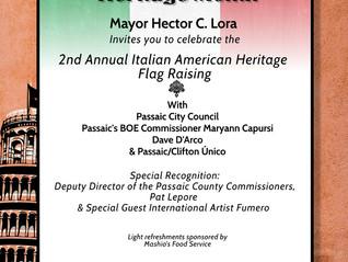 Passaic's Italian Heritage Ceremony