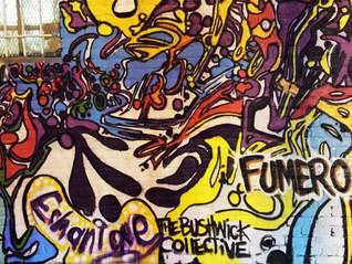 Fumeroism Collab with Artist Raquel Echanique for The Bushwick Collective