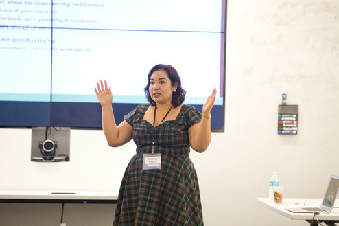 Speaking at MIT Medial Lab, 2016