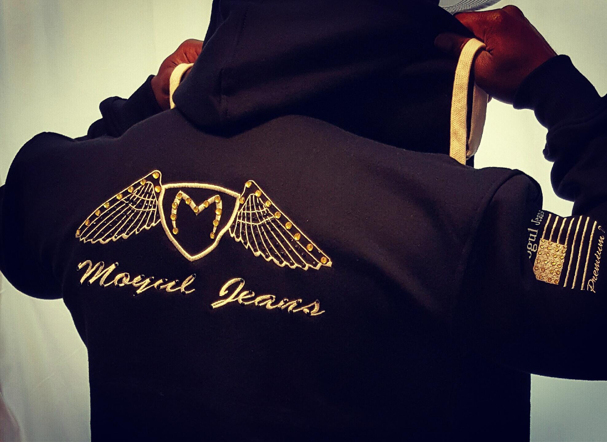 Mogul hoodie studded