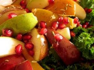 salad with honey dressing