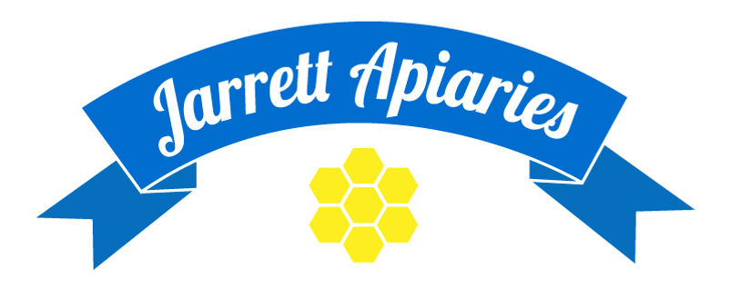 This is the logo for Jarrett Apiaries