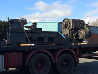 Our largest swing lathe makes a 'Swift' exit from Sileby