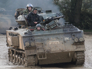 We find out what it is like to drive a Tank