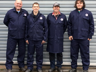 NEW YEAR, NEW WORKWEAR FOR THE MEC ENGINEERING TEAM
