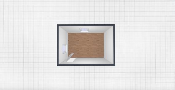 The Bedroom Art Gallery: Floor Plan