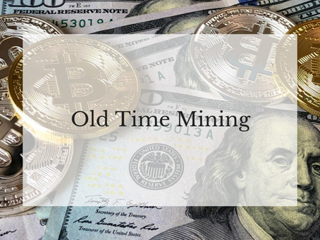 Old Time Mining