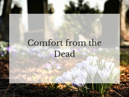 Comfort from the Dead
