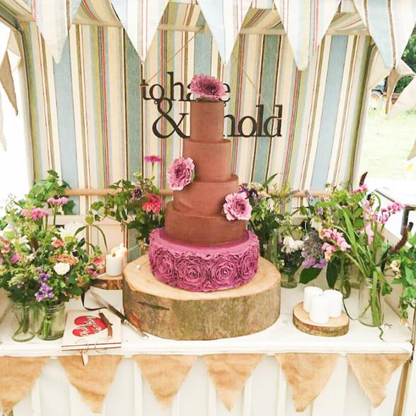 cake on sweet cart.jpeg