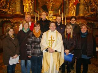 CD Vorstellung in der Pfarrkirche Pottschach