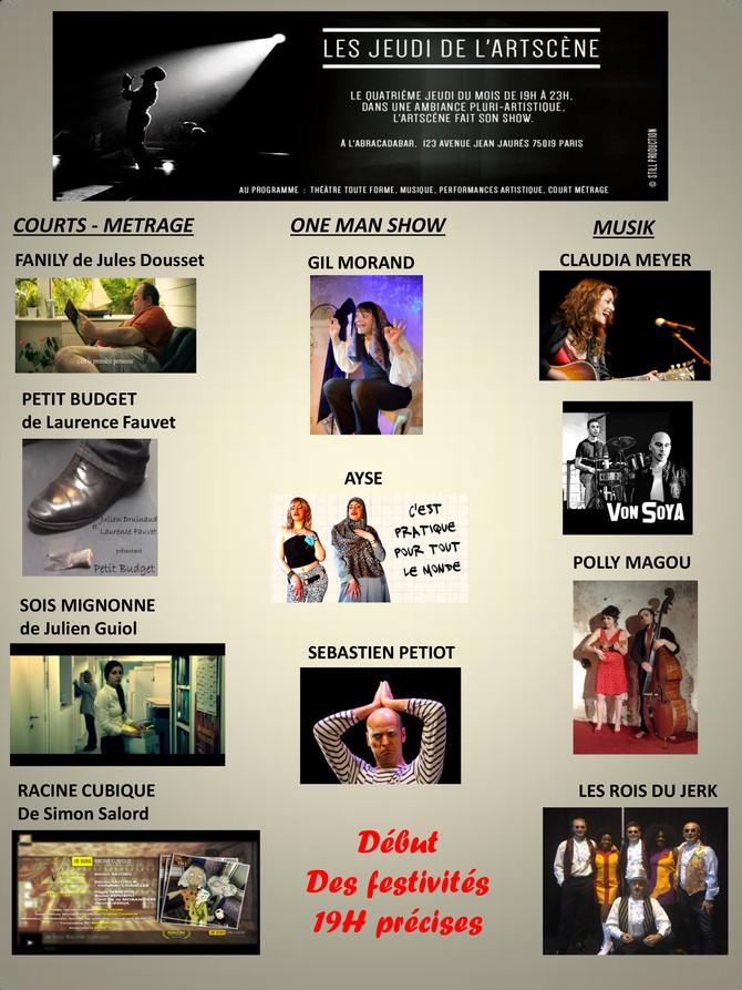 LES CONCERTS D'AWA - jeudi 24 septembre à 19h à l'Abradabar - 123 Avenue Jean Jaurès, 75019