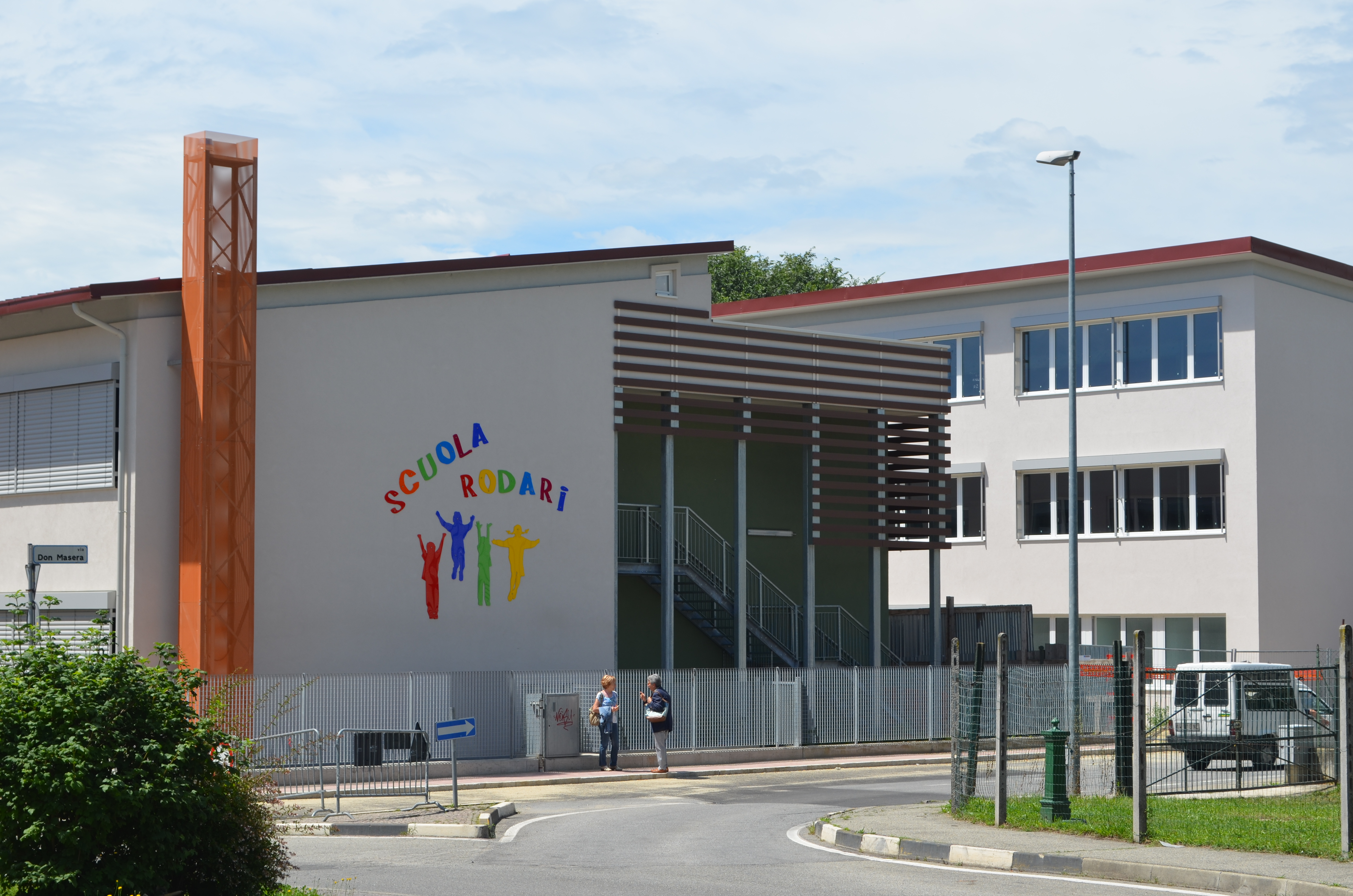 studio as Scuola elementare Rodari