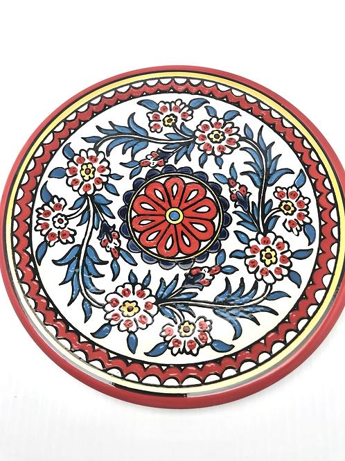 West Bank Ceramic Plate