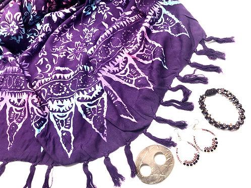Purple 4-Piece Summer Set