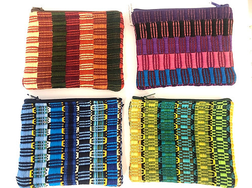 Recycled Woven Coin Purse