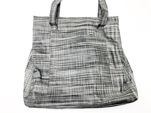 Black & White Silk Bag
