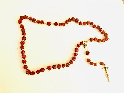 Woven Toquilla Rosary