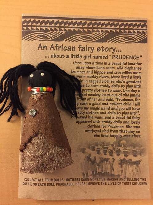 Sweet African Doll & Story