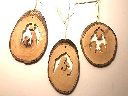 Olive Wood Ornaments