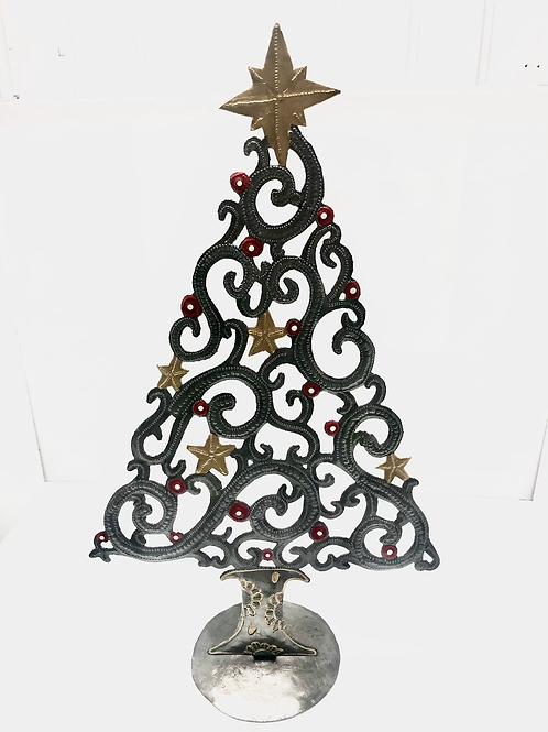 Painted Scroll Tree