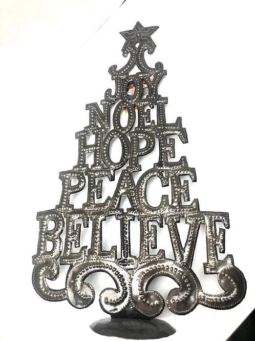 Holiday Word Tree