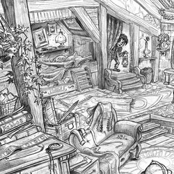Another crop, will post full drawing soon! _) #visualdevelopment #giant #pencil #sketch #sketchbook