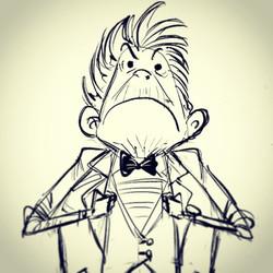 Characterdoodle #digital #cintiq  #character #sketch #illustration #concept #conceptart #sketch #art