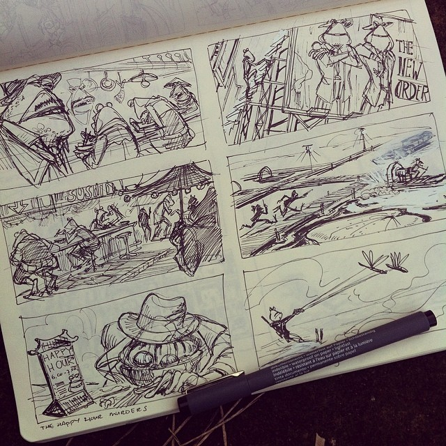 More sketches! #sketch #sketchbook #doodle #draw #design #doodles #illustratie #illustration #tekene