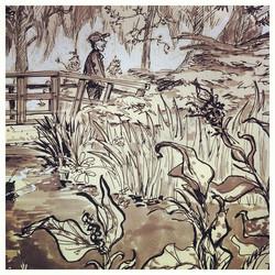 Closeup _) #zuiderpark #denhaag #outdoor #sketch #sketchbook #doodle #illustratie #illustration #dra