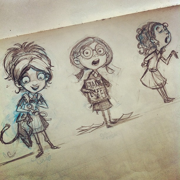 Charactersketches _)