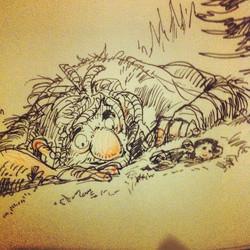 Giant sketch _) #sketch #sketchbook #illustration #concept #conceptart #art #doodle #draw #drawing #