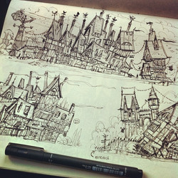 More crooked houses