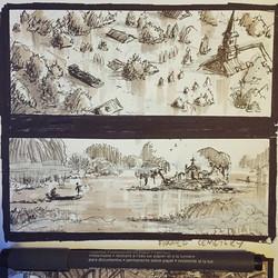 Closeup of some of the better ones #sketch #sketchbook #draw #drawing #art #artist #instaart #instaa
