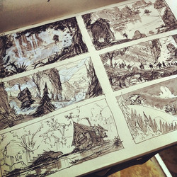 More story sketches _)