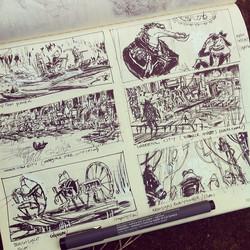 Another page _) #sketch #sketchbook #drawing #draw #illustratie #illustration #doodle #background #l