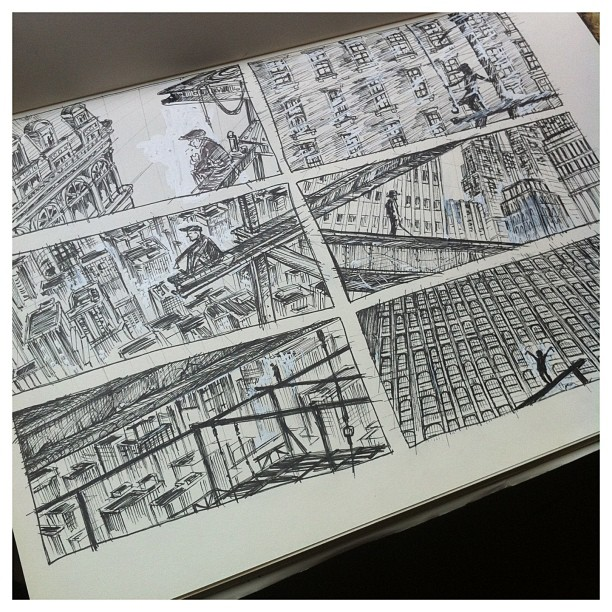 Layout studies for my 30s project ;) #30s #layouts #environments #sketchbook #sketch #draw #drawing