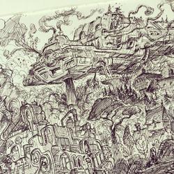 Closeup _) #sketch #sketchbook #draw #drawing #illustration #art #artist #2d #doodle #concept #conce