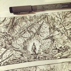 Sketch for something new #pensketch #sketchbook #drawing #sketch #visualdevelopment #conceptart #ill