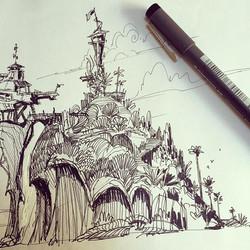 Some more sketchbook stuff #sketchboek #sketchbook #doodle #kids #drawing #illustration #design #vis