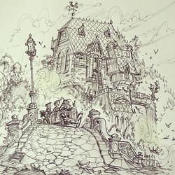 The final illustration _) #sketch #sketchbook #drawing #draw #doodle #design #illustration #ProArtis
