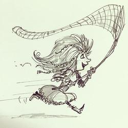 Girl sketch  #drawing #draw #illustration #concept #conceptart #art #design #characterdesign #visual