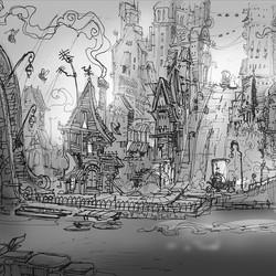 2 #swampmaffia #concept #photoshop #sketchbook #sketch #inktober #draw #drawing #visualdevelopment #