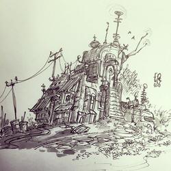 Communication Station thing #doodle #drawing #sketchbook #sketch #illustration #design #artpics #art